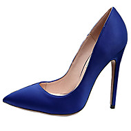 Women's Heels Spring / Fall Heels / Pointed Toe Silk Wedding / Party & Evening / Casual Stiletto Heel OthersBlack / Blue