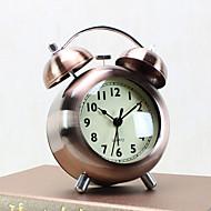 שעון מעורר עם סגנון מודרני במקרה matel