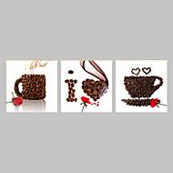 Lazer / Paisagem / Fotografia / Comida e Bebida / Patriótico / Moderno / Romântico / Pop Art Impressão em tela 3 PainéisPronto para