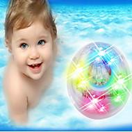 gyermek fürdő fényfürdő fény színes izzó fény fürdő játékok