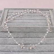 Women's Rhinestone Headpiece-Wedding Special Occasion Office & Career Headbands 1 Piece
