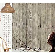 S proužky / stromy a listí / 3D Tapety pro domácnost klasické Wall Krycí , Netkaná textilie Materiál lepidlo požadováno tapeta , pokoj