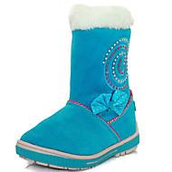 Boty-Bavlna-Sněhule / Módní boty-Dívčí-Modrá / Červená-Outdoor / Běžné-Plochá podrážka