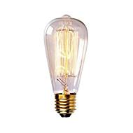 st58 60W E27 berba žarulja sa žarnom niti retro žarnom niti Edison lampa (ac220-240v)