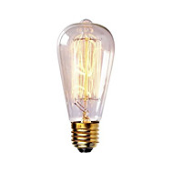st58 60w e27 vintage retro glødetråd Edison lampen (AC220-240V)