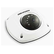 HIKVISION DS-2cd2512f-i 1.3MP מצלמת רשת כיפה מיני IP (אזעקה שמע IP66 i / o PoE)