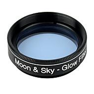 Uusi valosaastetta&moon suodatin 1.25inch / 31.7mm tähtitieteen teleskoopin skyglow okulaarin