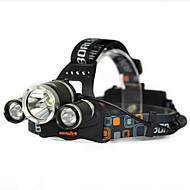 Lights Headlamps / Headlamp Straps / Safety Lights LED 10000 Lumens 1 Mode Cree XM-L T6 18650Anglehead / Super Light / Suitable for