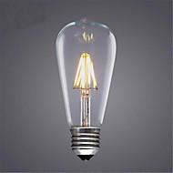 8W E26/E27 LED-hehkulamput ST64 8 SMD 5730 580 lm Lämmin valkoinen / Kylmä valkoinen / Keltainen Koristeltu V 1 kpl