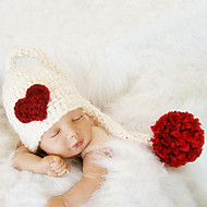 Newborn Prince Vintage Photography Prop Birthday Knitting Hat (0-6Month)