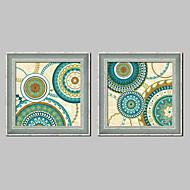 Fantasy Framed Canvas / Framed Set Wall Art,PVC Dark Blue No Mat With Frame Wall Art