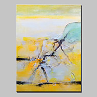 Hand-Painted Abstract Oil Painting On Canvas Modern Wall Art For Home Decoration With Stretched Frame Ready To Hang