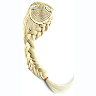Fashion Clip in on Hair Extension Piece Bride Fringe Tails And Braids Styling Braids Hair Bands Oblique Bangs