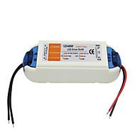ac 90-240v 0.62a dc 12v 4a 48W led elektromosan állítható vezetőülés - fehér narancs