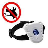 Dog Bark Collar Anti Bark / Ultrasonic / Electronic/Electric Solid White Nylon / Plastic