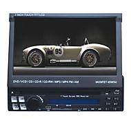 7 tuuman 1DIN LCD kosketusnäyttö digitaalinen paneeli auto dvd soitin tukee gps .ipod.bluetooth.stereo radio.rds.touch näyttö.