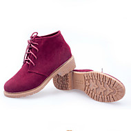 Women's Oxfords Spring / Summer / Fall / Winter Mary Jane Suede Casual Low Heel Others Black / Yellow / Red Others