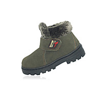 Boy's Boots Fall / Winter Snow Boots Leather Outdoor / Casual Flat Heel Magic Tape