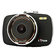 ITrue X3 Dash Cam2.7Inch LCD1080P170 Degree AngleNight Vision and 8GB Card