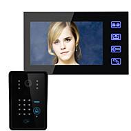 Sem Fio Campainha de vídeo multifamiliar 7 960*480 Interfone de Vídeo Um para Um