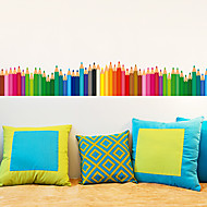 Květinový / stromy a listí / secesní motiv Tapety pro domácnost Moderní Wall Krycí , PVC a vinyl Materiál lepidlo požadovánoNástěnná
