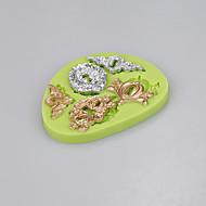 5 Cavity keyhole shape silicone mold fondant cake decoration tools chocolate candy mold kitchen ware