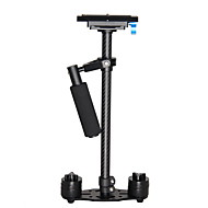 yelangu® professionele 0.6m koolstofvezel hand-held video camera stabilisator china