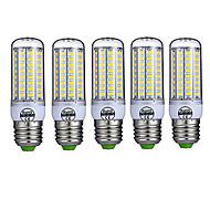 15W E26/E27 LED corn žárovky T 72 SMD 5730 980LM lm Teplá bílá / Chladná bílá Ozdobné AC 220-240 V 5 ks