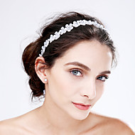 Women's Lace / Acrylic Headpiece-Wedding / Special Occasion Headbands / Flowers 1 Piece