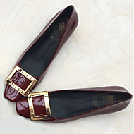 Balerinacipő / Szögletes orrú-Lapos-Női cipő-Lapos-Alkalmi-Lakkbőr-Kék / Szürke / Vörös