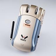 Wafu Trådløs smarte fjernbetjening dørlås med nøglefri & usynlig tyverisikring låse sikkerhed dørlås med 4 fjernbetjeningsnøgler