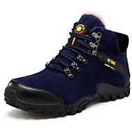 Atletik Ayakkabılar-Açık Hava-Rahat-PU-Düz Topuk-Siyah Sarı Haki-Erkek
