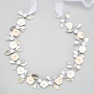 Women's Crystal Alloy Imitation Pearl Headpiece-Wedding Special Occasion Headbands 1 Piece