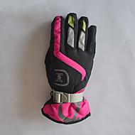 Ski-Handschuhe Damen Sporthandschuhewarm halten Wasserdicht Windundurchlässig Fleece Innenfutter Feuchtigkeitsdurchlässigkeit