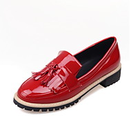 Women's Loafers & Slip-Ons Spring / Summer / Fall / Winter Comfort PU Casual Low Heel Tassel