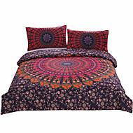 BeddingOutlet Mandala Bedding Concealed Bedspread Duvet Cover Set 3Pcs Boho Bedlinen Twin Full Queen King New