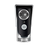 Wi-Fi Video Door Intercom And Door Bell - 1/3 Inch CMOS APP Support Motion Detection Night Vision Weatherproof