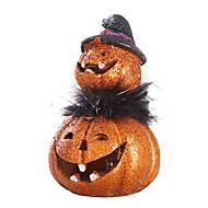 1pc hars ambachtelijke artikelen voor stoffering elegante Europese-stijl cartoon Halloween pompoenen leds lamp