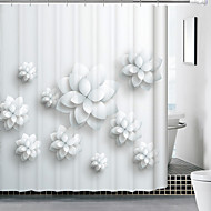 Products Sell Like Hot Cakes Polyester Waterproof Mouldproof Shower Curtain 3 D Hand Draw Stereogram