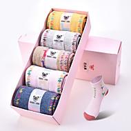 DOUBLE LIONS® Damen Wolle Socken 5 / box-WM7046
