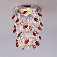3W Modern Chrome Color Mini Style Crystal Ceiling light