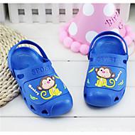 יוניסקס תינוק סנדלים נוחות PVC קיץ קזו'אל נוחות הדפס חיות עקב שטוח כחול כהה פוקסיה ורוד כחול ים שטוח