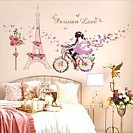 Stilleven Wall Stickers Vliegtuig Muurstickers Decoratieve Muurstickers,PVC Materiaal Verwijderbaar / Verstelbaar Huisdecoratie