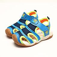 Sandály-PU-Pohodlné / Kulatá špička-Chlapecké-Modrá / Oranžová-Běžné-Plochá podrážka