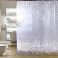1PC Newfangled Water-Repellent  Toilet Bathroom Renting Shower Curtains