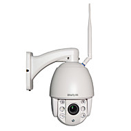 HOSAFE® 960P 4X Zoom Auto Focus Mini Speed Dome PTZ WiFi IP Camera w/ Night Vision Motion Detection