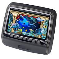 lettore DVD dell'automobile del poggiacapo da 9 pollici monitor con 800x480 schermo incorporato di sostegno USB giochi sd telecomando