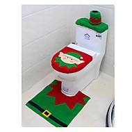 Weihnachten Toilette Satz von dreiteilige Weihnachten Elf Toilettengarnituren