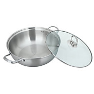 304 Stainless Steel Five Layer Steel Stockpot    30cm