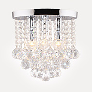 Modern Style Simplicity K9 Crystal Ceiling Lamp Flush Mount Living Room Dining Room Bedroom Hallway light Fixture